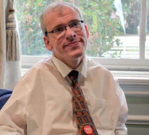 Photo of Dr. Eric Peebles